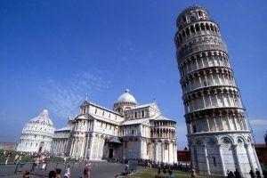 Pisa, Italia, torre inclinada