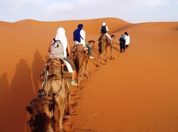 viajar al sahara