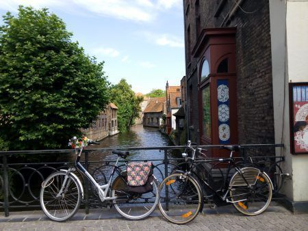 amberes belgica bici
