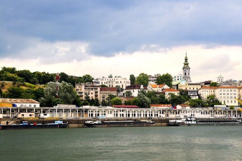 Ruta por los balcanes en Belgrado