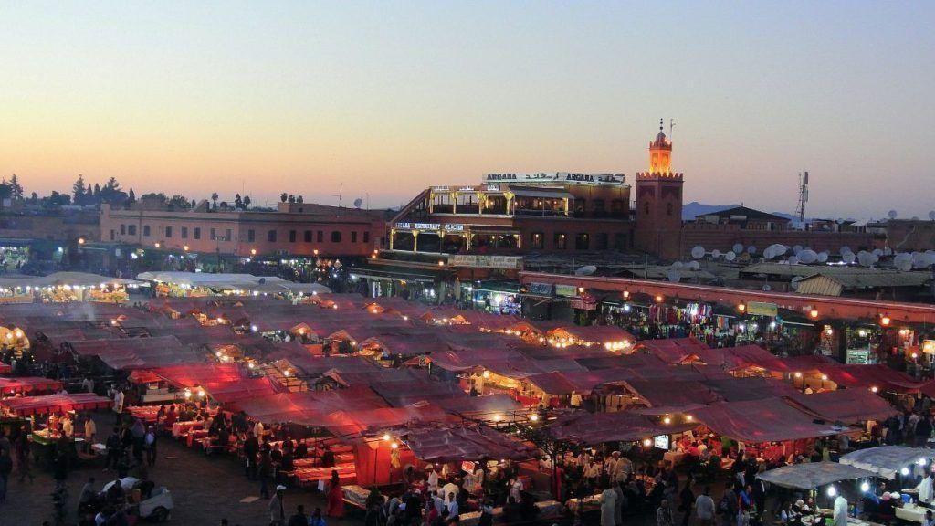 marrakech jna el fna