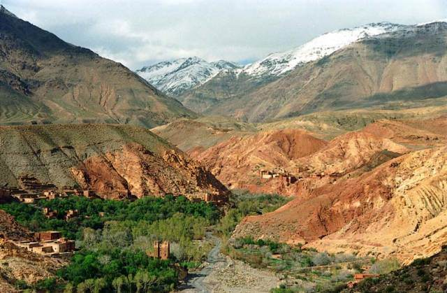 Valle, Dadés, Marruecos