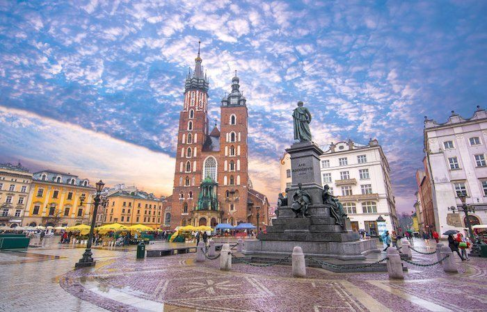 Foto plaza de cracovia