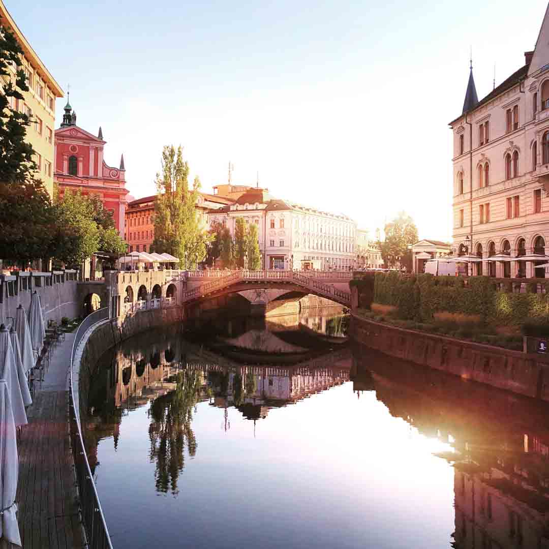 Ljubljana porque visitar Eslovenia