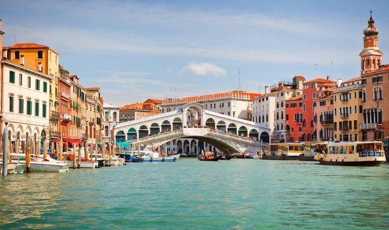 Foto de venecia ponte rialto