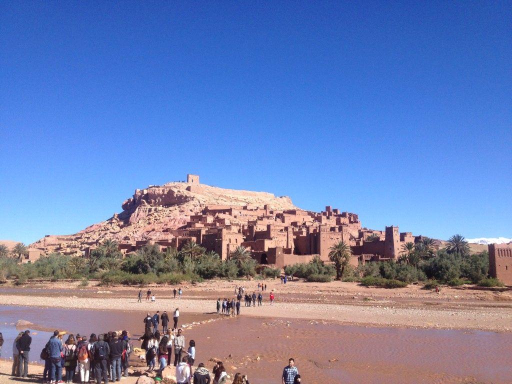 marruecos estudiantes desierto