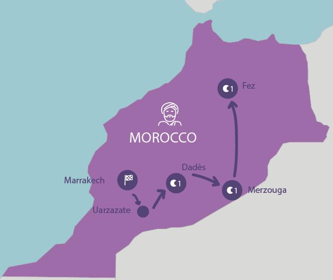 Marrakesh Fez Tour