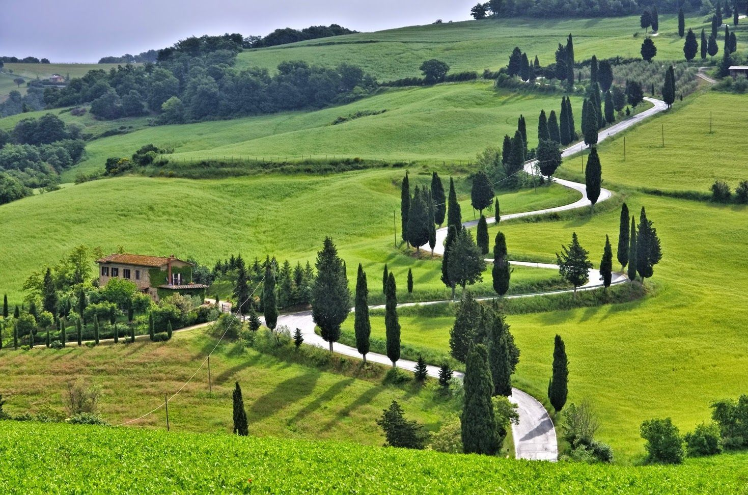 Carreteras de la Toscana