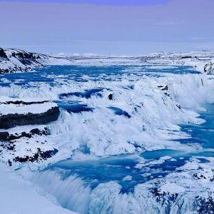 iceland winter snow