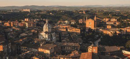 Foto tejados de la Toscana