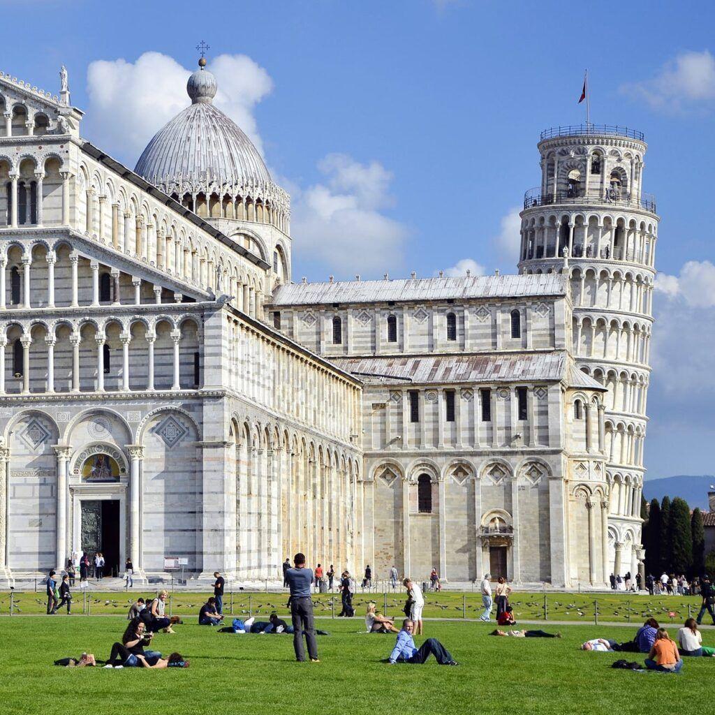 Foto de la iglesia de Pisa