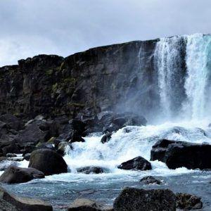 Foto de cascada de Islandia