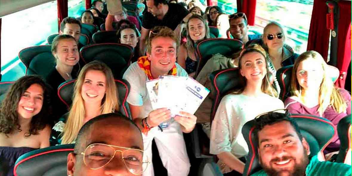 viajar en autobus con unitrips
