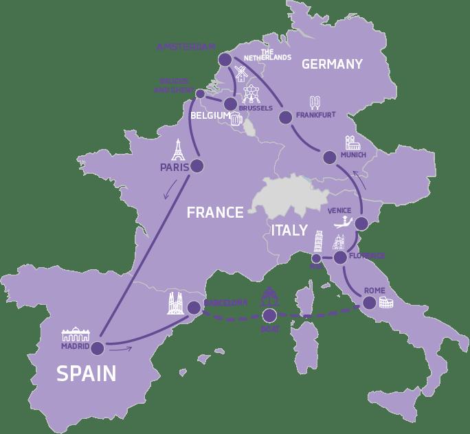 EXPRESS WESTERN EUROPE TOUR