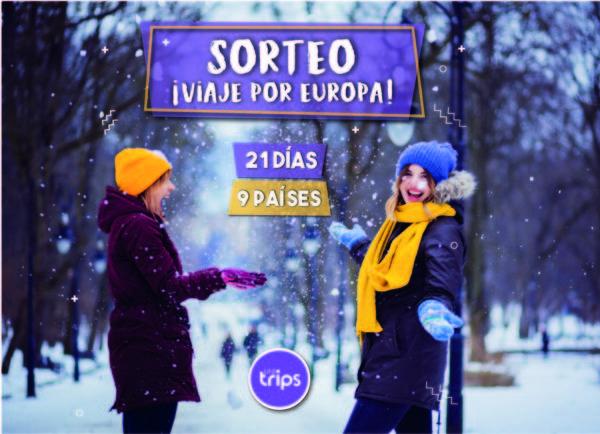 sorteo web viaje por europa