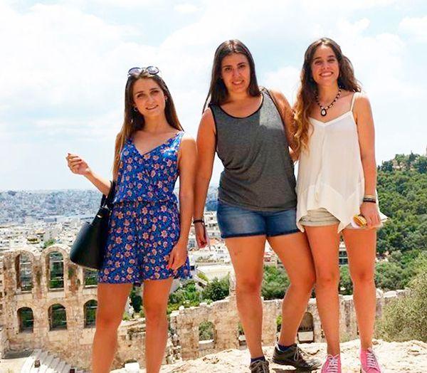Estudiantes de viaje finde curso por Atenas