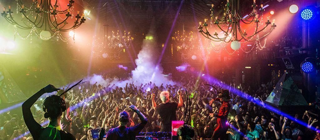 Foto fiesta con DJ ibiza