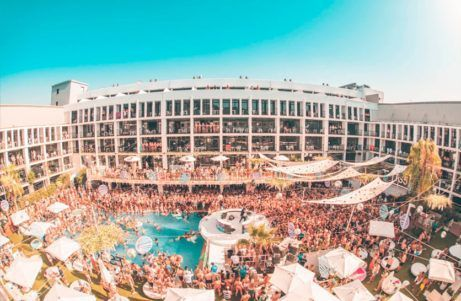 Spring break in Ibiza