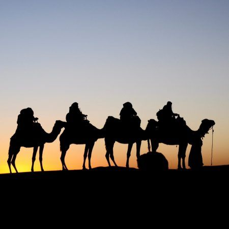 Marrakech Féz por el desierto