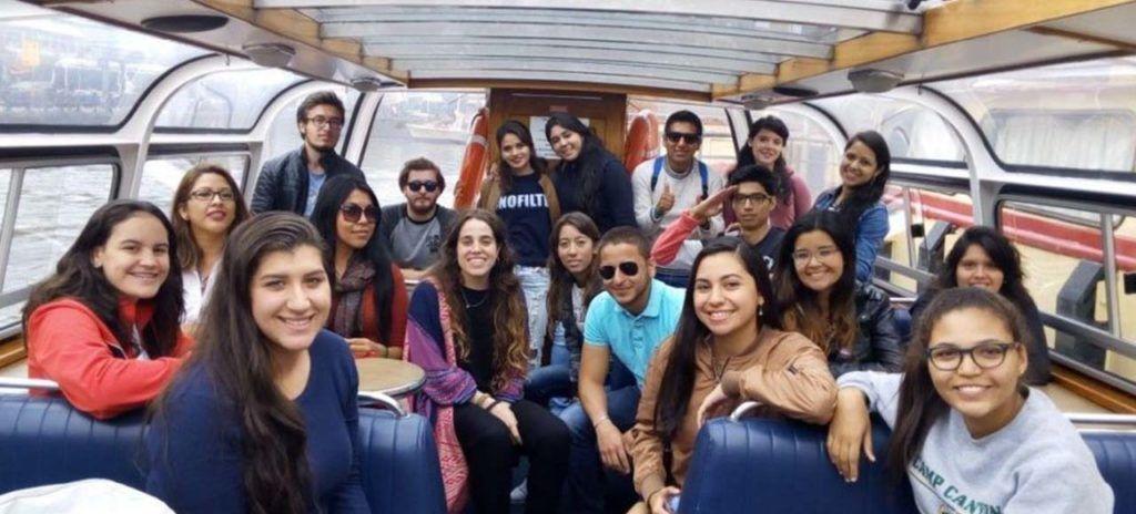 bote de alumnos en eurotrip