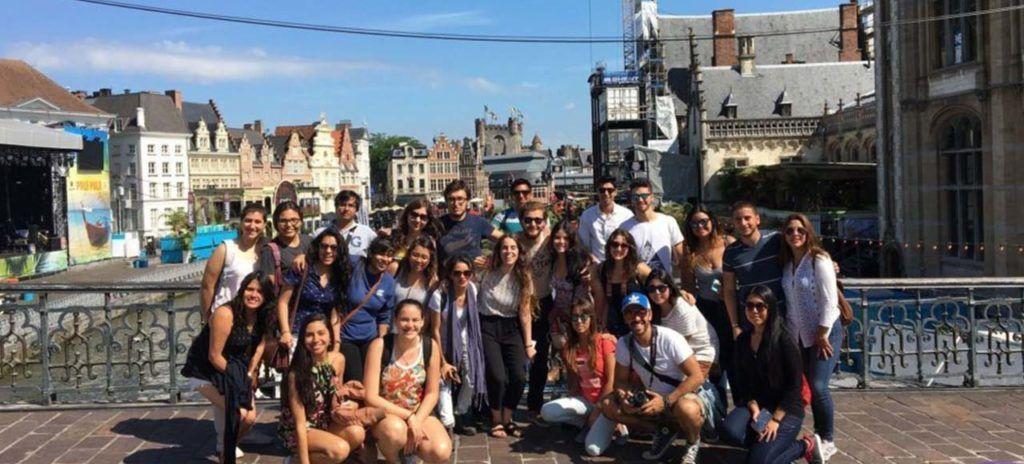 grupo alumnos en eurotrip