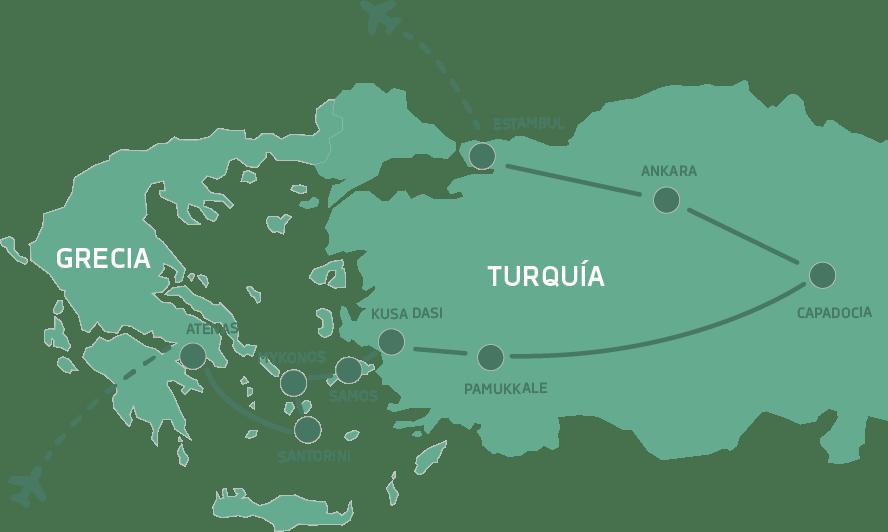 Grecia y Turquia