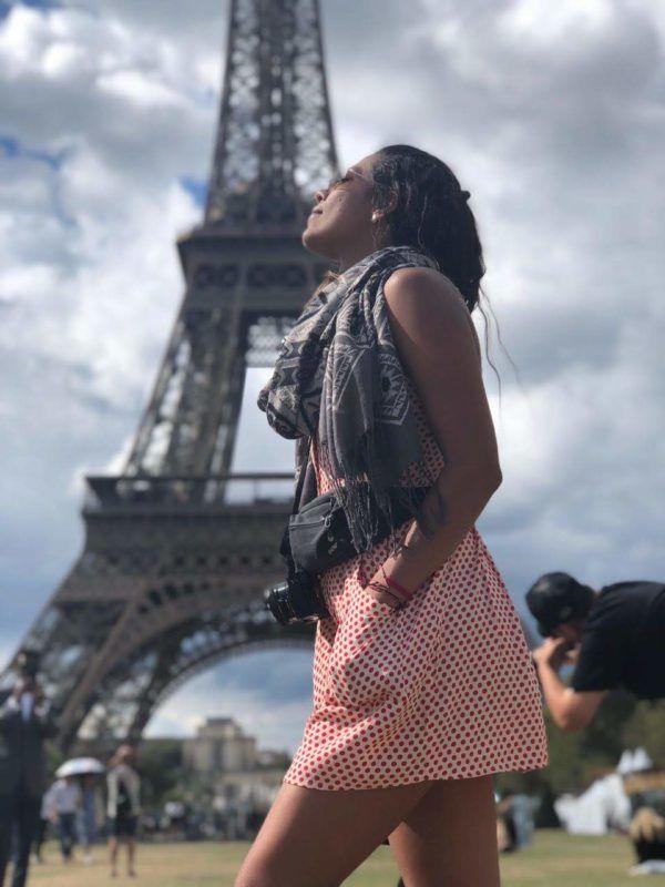 Verano en Europa disfrutando de París