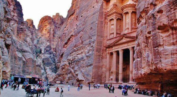 Foto de petra en jordania