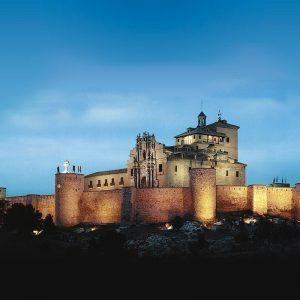 Foto de castillo iluminado recurso