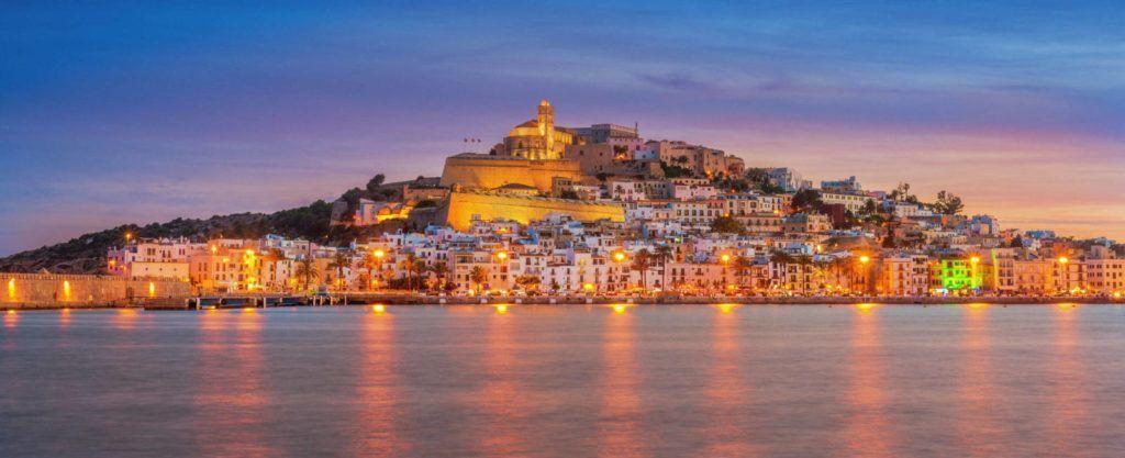 Foto vistas ciudad de Ibiza