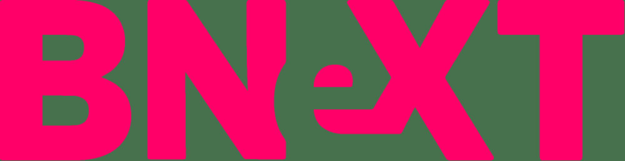 Logo bnext sin fondo y rosa
