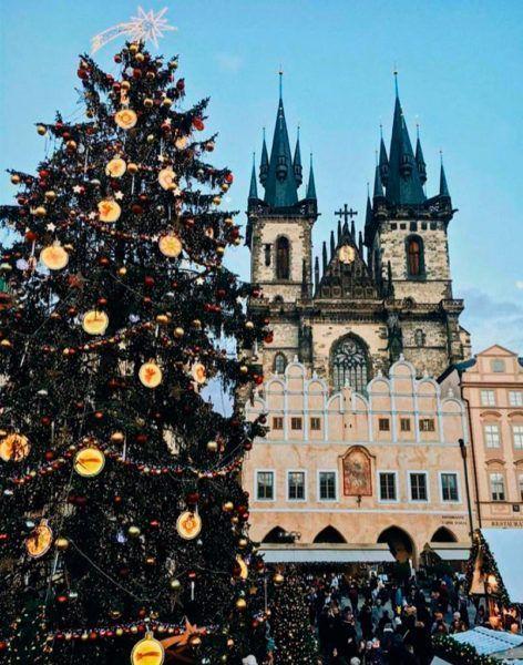 Foto Navidad en Praga