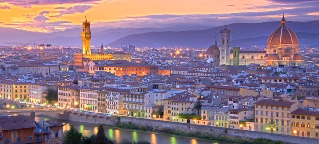 Tour Italia completo Florencia Piazzale Michelangelo