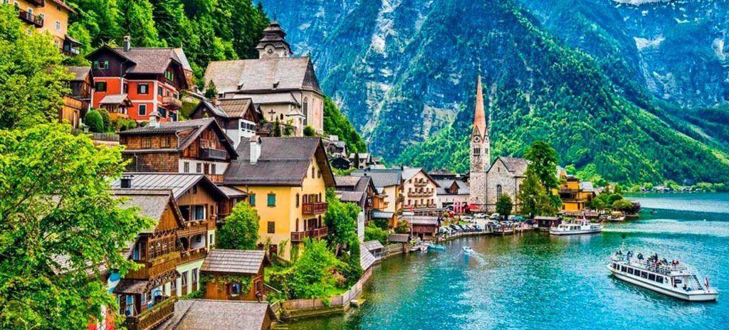 austria-hallstatt-lago viaje praga viena budapest