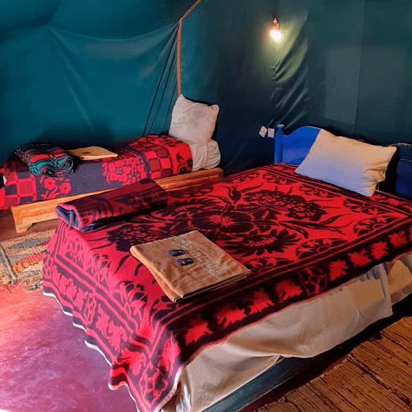 Excursión Desierto Marrakech haimas en el desierto