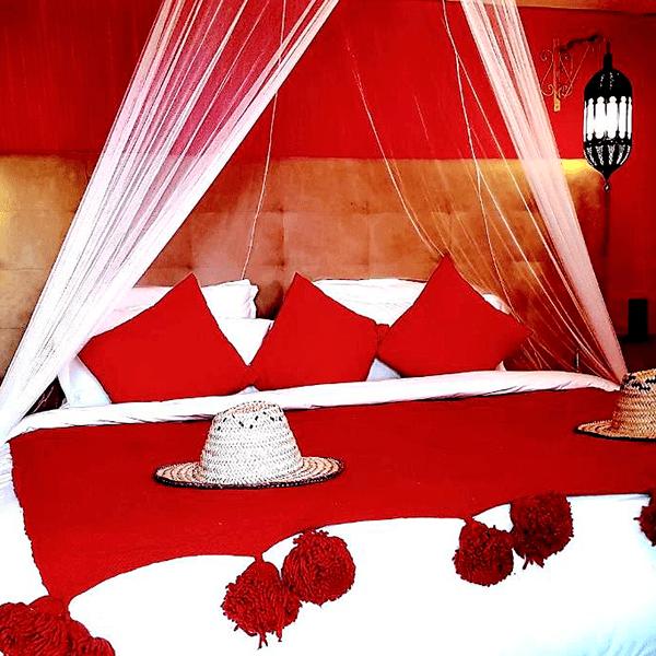 Excursion Marrakech Desierto en privado haimas de lujo en el desierto