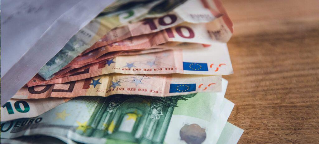 Billetes euro llevar efectivo
