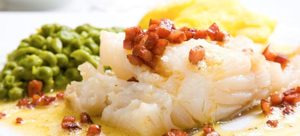 comida tradicional noruega lutefisk