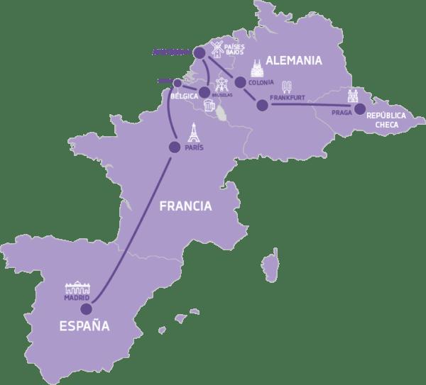 Mapa Cuento de Hadas Europa