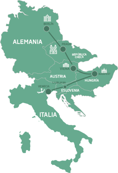 Mapa de Encantos de Centroeuropa