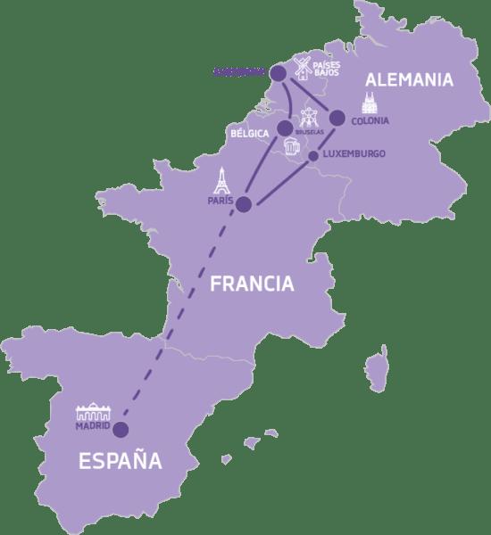 Mapa Europa Gotica