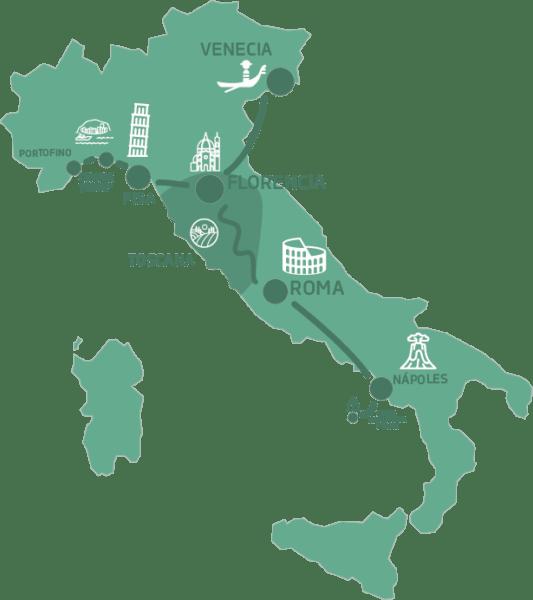 Mapa Italia Secreta