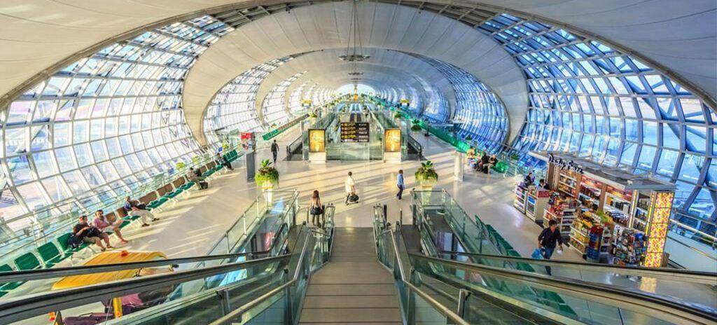 Viaje a Tailandia Aeropuerto Suvarnabhumi