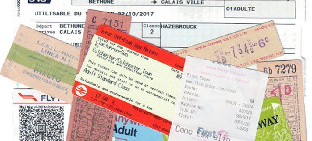 tickets viajeros
