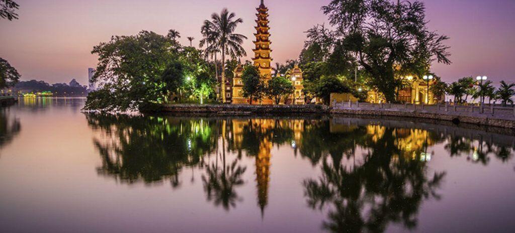 Viaje a Vietnam Pagoda de Tran quoc