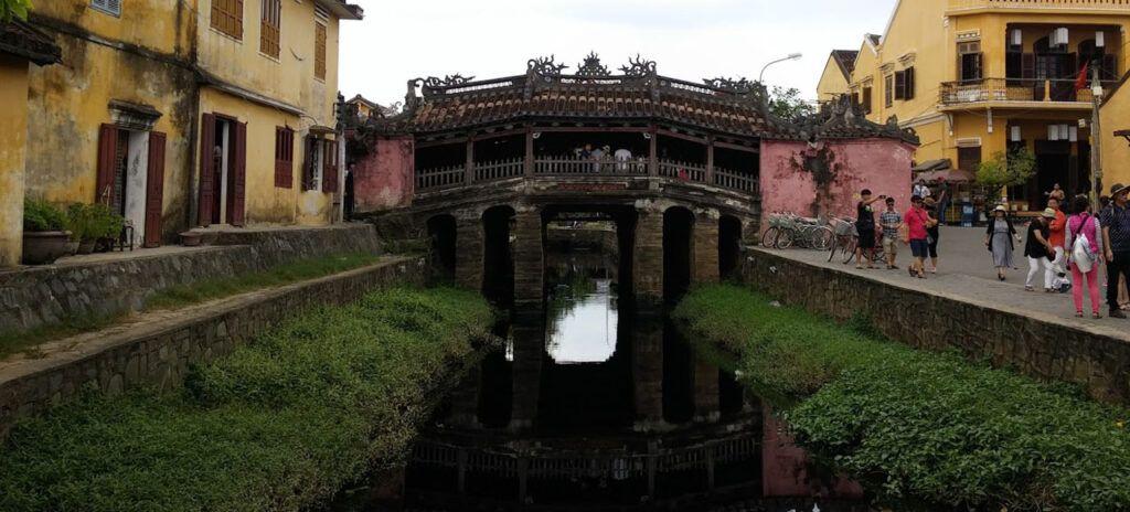 Viaje a Vietnam puente Japonés