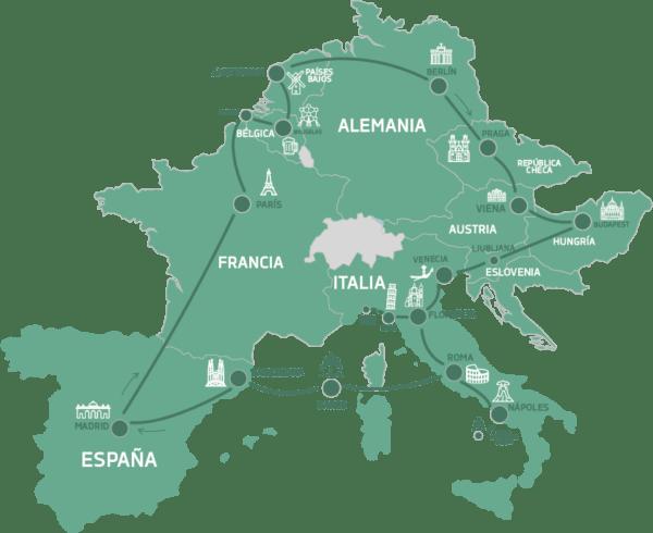 Mapa Wanderlust