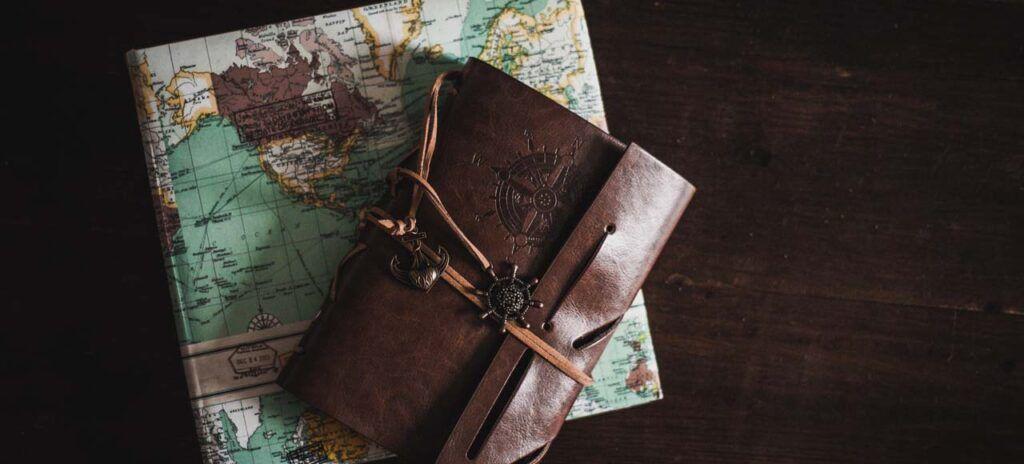 regalos para viajeros cuaderno de viaje