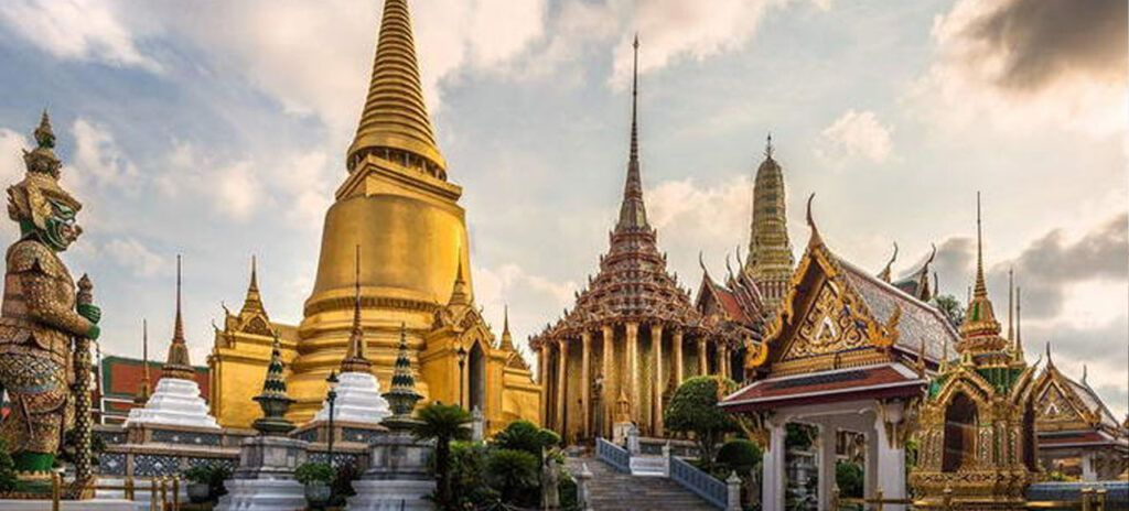 Viaje a Tailandia Gran palacio real Bangkok