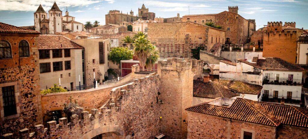 Caceres España portugal y marruecos